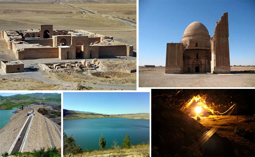جاذبه های طبیعی، گردشگری و تاریخی «سرخس» را بشناسید