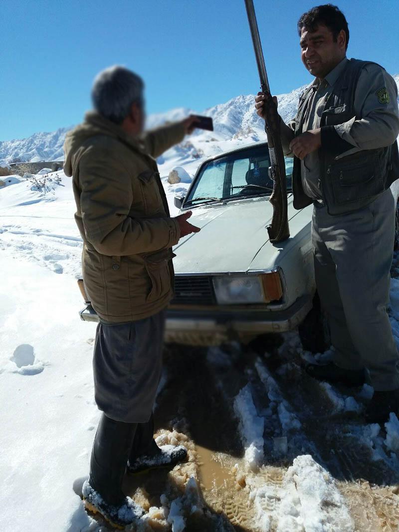 دستگیری شکارچیان قبل از شکار غیرمجاز در سرخس+ عکس
