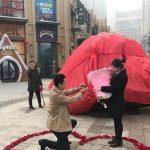 هدیه عجیب مرد چینی برای درخواست ازدواج +عکس