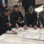 حضور دبیر مجمع تشخیص مصلحت نظام در شهرستان مرزی سرخس