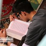گزارش تصویری/ آیین معنوی اعتکاف در مسجد جامع سرخس