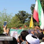 تشییع پیکر پاک شهید مدافع وطن صادق خدادادی (18)
