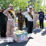 تشییع پیکر پاک شهید مدافع وطن صادق خدادادی (2)