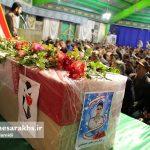 تشییع پیکر پاک شهید مدافع وطن صادق خدادادی (5)