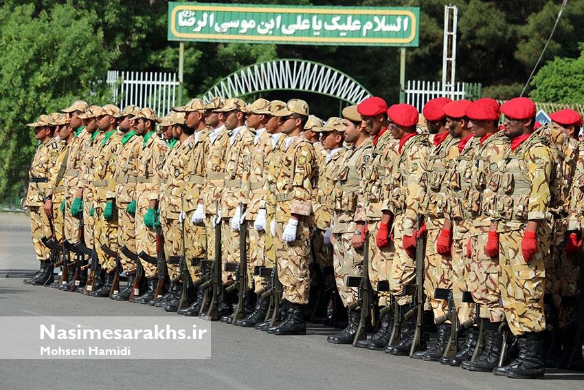 گزارش تصویری/ مراسم گرامیداشت روز ارتش در سرخس