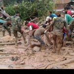 تصاویر رانش مرگبار زمین در کلمبیا