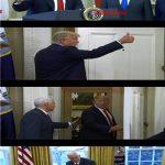 ترامپ یادش رفت امضا بزند! +عکس