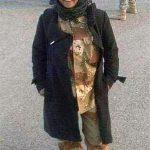 اولین شهید زن حشد الشعبی +تصاویر