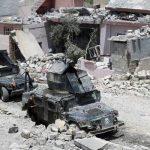 تصاویر/ آخرین نفسهای داعش در موصل