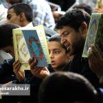 احیای شب بیست و سوم ماه رمضان در مسجد امام رضا(ع) سرخس (۱۳)