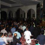 احیای شب بیست و سوم ماه رمضان در مسجد امام رضا(ع) سرخس (۱۴)