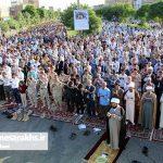 تصاویر/ اقامه نماز عید فطر در سرخس