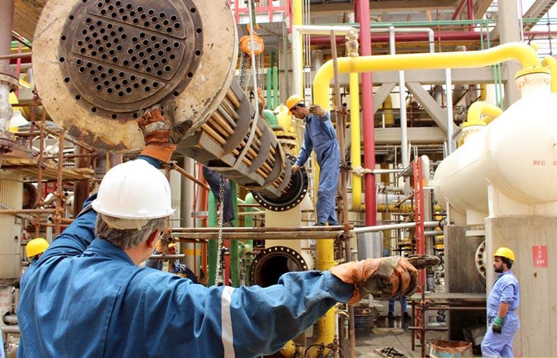 شرکت ۴۵ هزار نفر روز در تعمیرات اساسی پالایشگاه سرخس