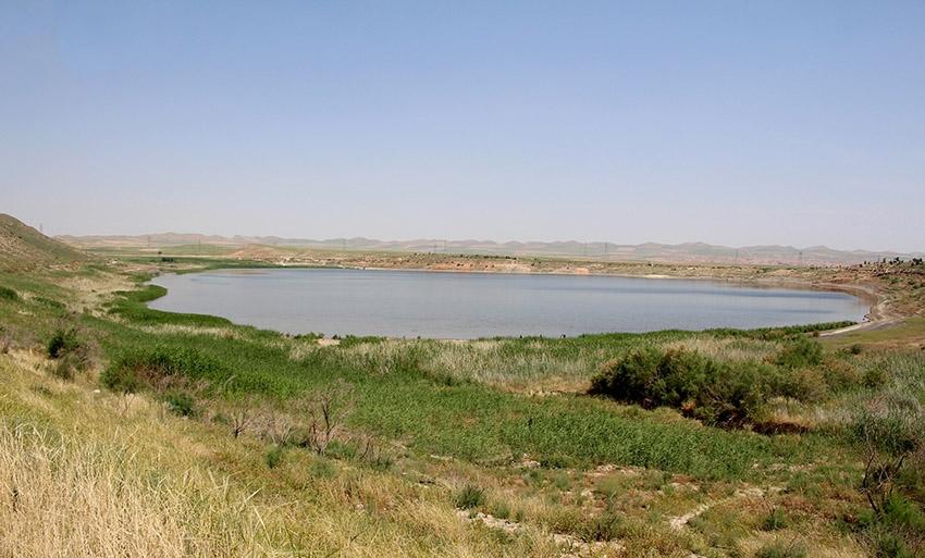 دریاچه بزنگان سرخس، عروس دریاچههای ایران