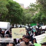 راهپیمایی روز ملی عفاف و حجاب در سرخس (۶)
