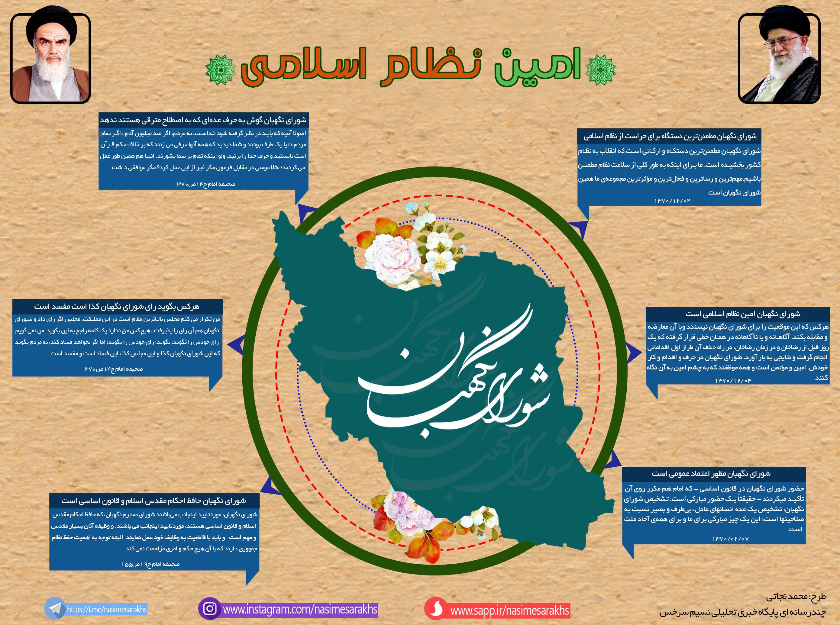 اینفوگرافی/ امین نظام اسلامی