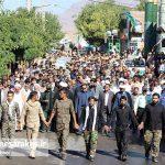 تشییع دو شهید گمنام در شهر مزداوند (۱)