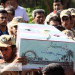 تشییع دو شهید گمنام در شهر مزداوند (۱۰)