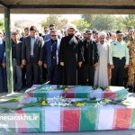 دو شهید گمنام در شهر مزداوند تشییع و به خاک سپرده شدند+ تصاویر