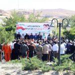 تشییع دو شهید گمنام در شهر مزداوند (۱۴)