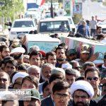تشییع دو شهید گمنام در شهر مزداوند (۲)