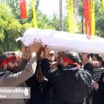 تشییع دو شهید گمنام در شهر مزداوند (۲۰)