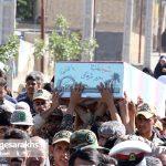 تشییع دو شهید گمنام در شهر مزداوند (۷)