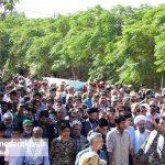 تشییع دو شهید گمنام در شهر مزداوند (۹)