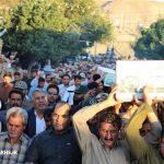 مراسم استقبال از دو شهید گمنام در شهر مزداوند (۱۲)