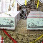 مراسم استقبال از دو شهید گمنام در شهر مزداوند (۱۴)