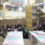 مراسم استقبال از دو شهید گمنام در شهر مزداوند (۱۸)