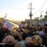 مراسم استقبال از دو شهید گمنام در شهر مزداوند (۷)
