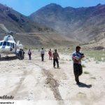 نجات ۹ نفر از سیلزدگان روستای معدن آقدربند سرخس (۱۱)