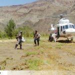 نجات ۹ نفر از سیلزدگان روستای معدن آقدربند سرخس (۱۸)