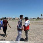 نجات ۹ نفر از سیلزدگان روستای معدن آقدربند سرخس (۹)
