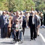مراسم رژه نیروهای مسلح شهرستان سرخس (۱۱)