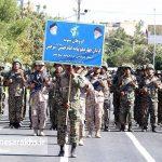 مراسم رژه نیروهای مسلح شهرستان سرخس (۱۶)