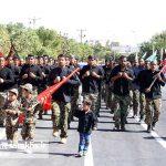مراسم رژه نیروهای مسلح شهرستان سرخس (۱۸)