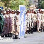 مراسم رژه نیروهای مسلح شهرستان سرخس (۲)