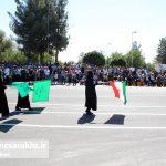 مراسم رژه نیروهای مسلح شهرستان سرخس (۲۱)