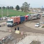 تردد ۴۰ هزار دستگاه کامیون ترانزیتی از مرز سرخس/ پل دوم پایانه مرزی سرخس آماده بهرهبرداری است