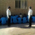 دستگیری ۲۲ سارق سابقهدار و معتاد متجاهر در سرخس+ تصاویر