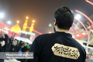 تصاویر اختصاصی نسیم سرخس از «پیادهروی اربعین حسینی»