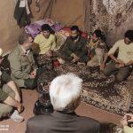 خدمت رسانی گروه جهادی سپاه سرخس در روستای زلزله زده زراعی سرپل ذهاب (۱)