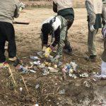 خدمت رسانی گروه جهادی سپاه سرخس در روستای زلزله زده زراعی سرپل ذهاب (۱۱)