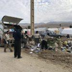 خدمت رسانی گروه جهادی سپاه سرخس در روستای زلزله زده زراعی سرپل ذهاب (۱۲)