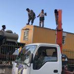خدمت رسانی گروه جهادی سپاه سرخس در روستای زلزله زده زراعی سرپل ذهاب (۲)