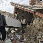 خدمت رسانی گروه جهادی سپاه سرخس در روستای زلزله زده زراعی سرپل ذهاب (۲۱)
