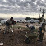 خدمت رسانی گروه جهادی سپاه سرخس در روستای زلزله زده زراعی سرپل ذهاب (۲۳)
