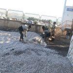 خدمت رسانی گروه جهادی سپاه سرخس در روستای زلزله زده زراعی سرپل ذهاب (۲۴)